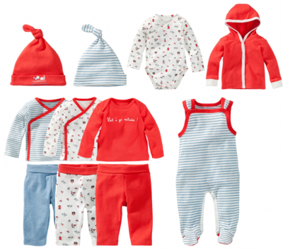 Frisse zomerse babycollectie